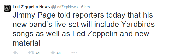 Led Zeppelin News  @LedZepNews  on Twitter
