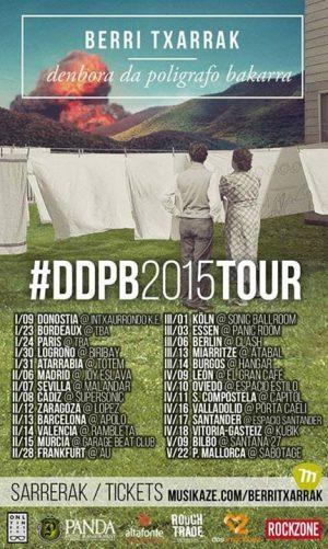 Berri txarrak gira 2015