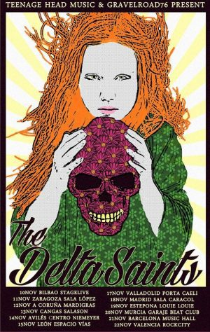 Delta Saint Spanish tour 2015