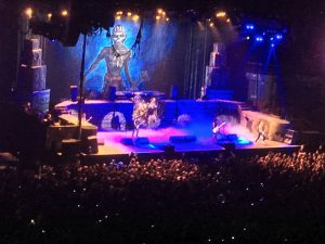Iron Maiden The Book Of Souls world Tour Barclaycard Center Madrid