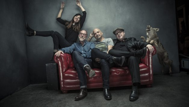 Pixies - L-R:  Paz Lenchantin, David Lovering, Joey Santiago, Black Francis
