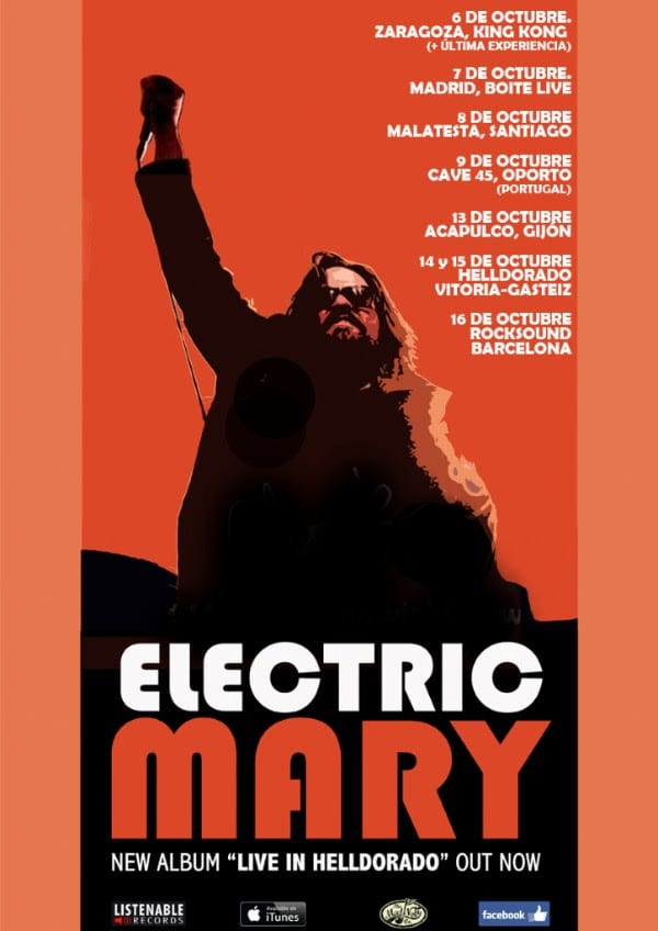 Electric Mary 2016 Cartel