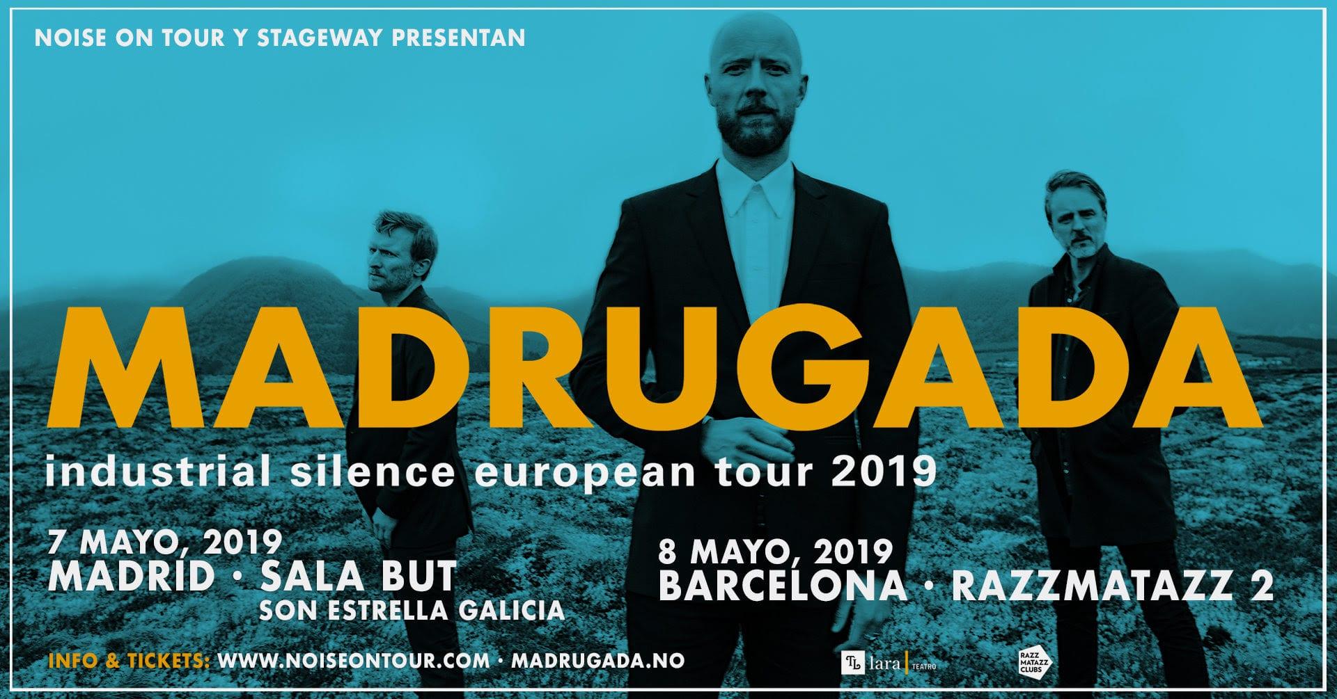 MADRUGADA Actuará Mañana En Madrid Y El Míercoles En